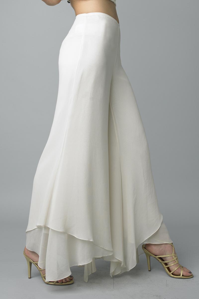 P5905 | Silk dress pants by basix black label |