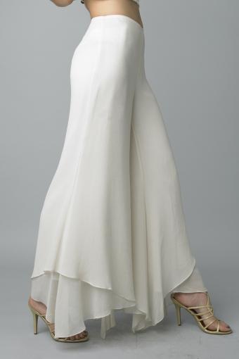 Silk dress pants by basix black label