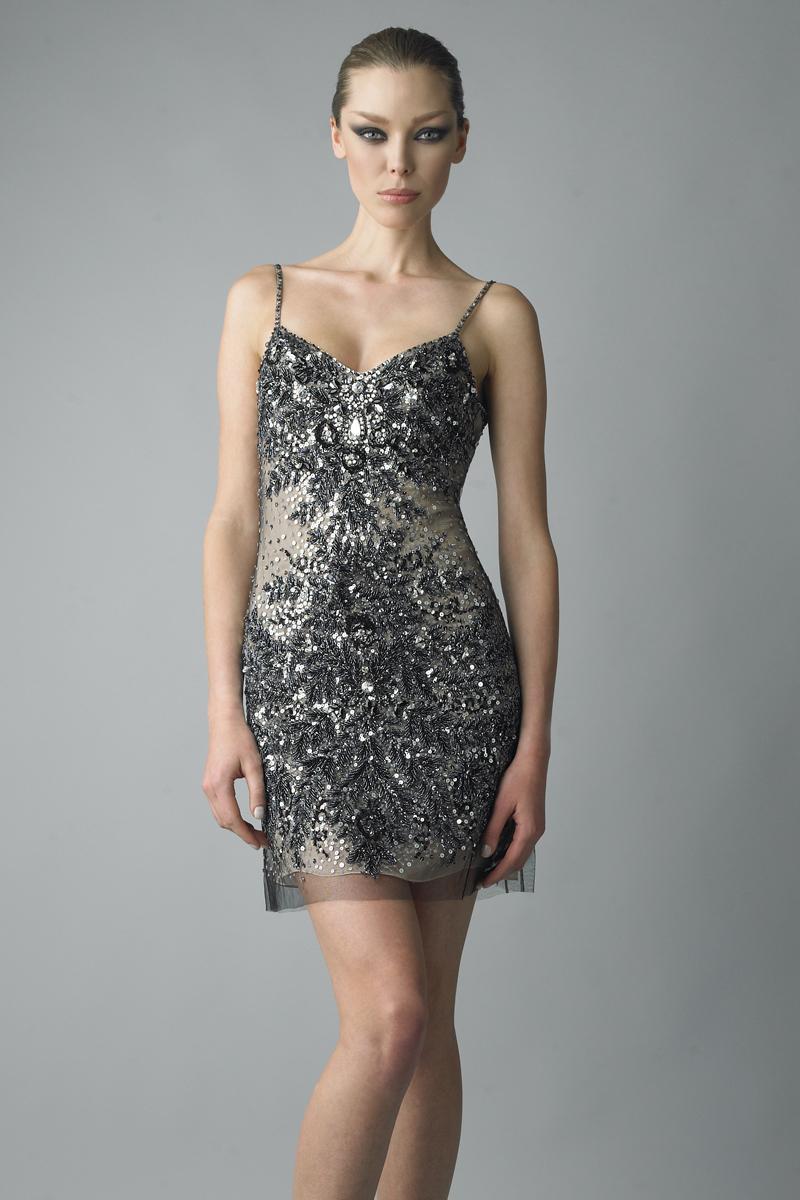 D5662A | Basix black label slip dress |