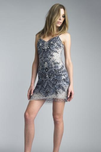Basix black label slip dress