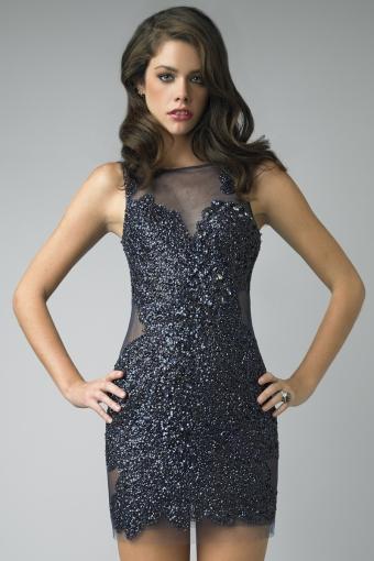 Sequin cocktail dress by basix black label