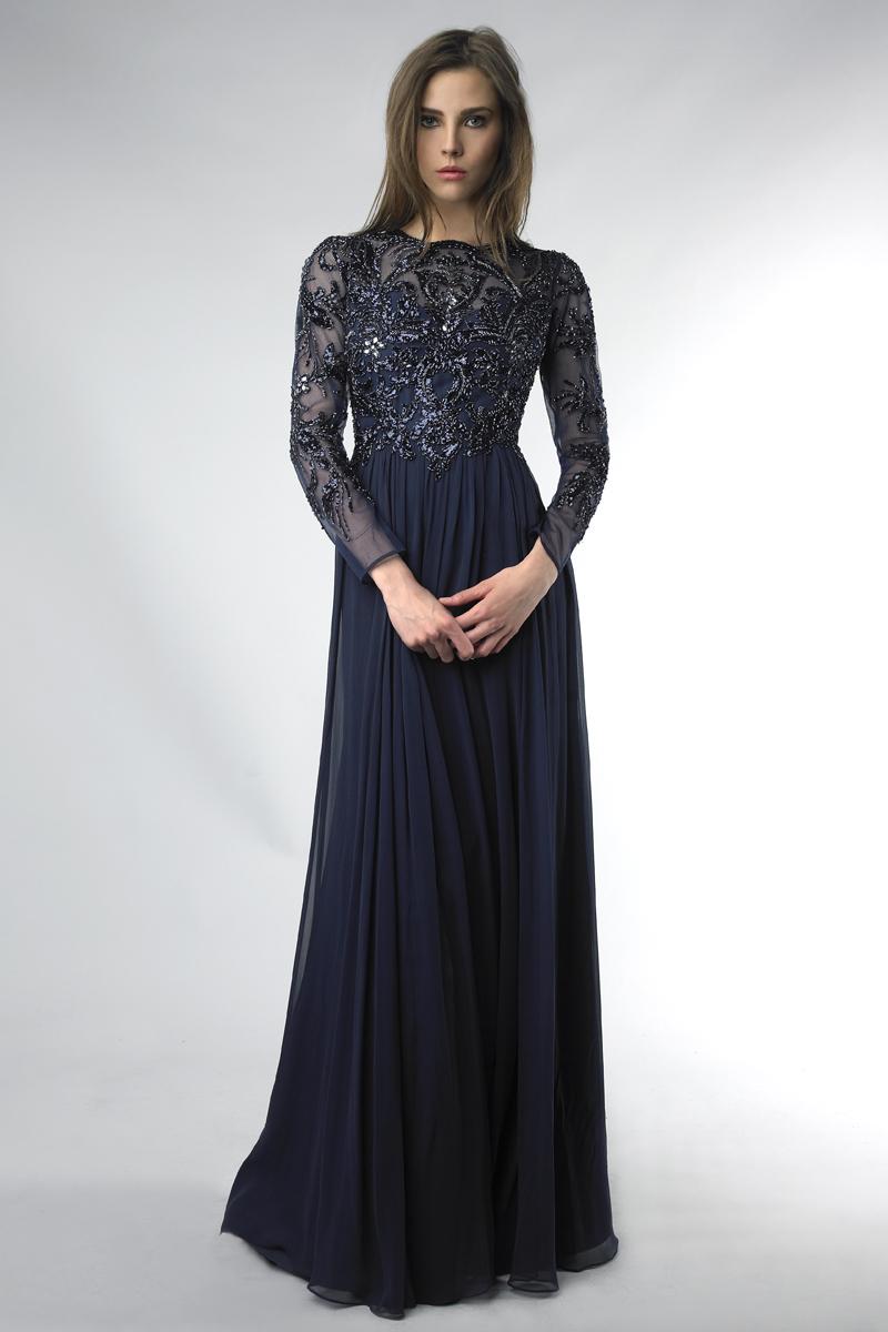 D6408L | Basix black label beaded bodice dress options available |