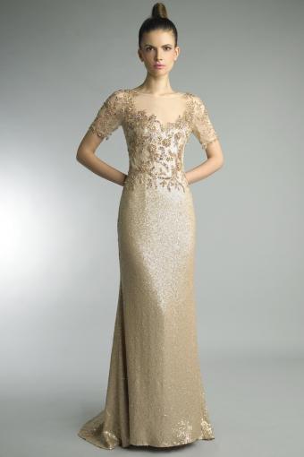 Basix black label  column gown